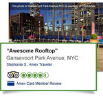 AmEx $10 Statement Credit When Your Next Review Is Posted on TripAdvisor