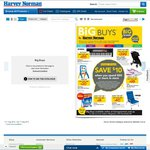 $10 Voucher for Harvey Norman Big Buys (In-Store, Min. $50 Spend)