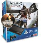 Sony PS3 500GB + Assassin's Creed IV Black Flag + The Last Of Us $294 Pickup or $6.95 Delivery @ HN