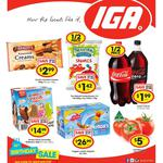 50% off Coca-Cola Varieties 2L or Uncle Tobys Cheerios 305/320g $1.99 @ Supa/IGA - NSW/VIC/QLD