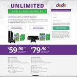Unlimited ADSL2+ XBOX Bundles with DODO + Xbox Live Gold 25 Months