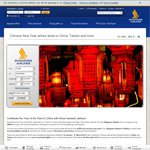 Chinese New Year Airfare Deals to China or Taiwan Starting $1,080 Return (Singapore Airlines)
