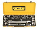 """Stanley Socket Set - 40 Piece, 1/2"""" Drive, Metric & Imperial $64.99 @ SCA (Save $65)"""