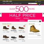 Up to 50% off Shoes End of Year Sale (over 500 Styles) (Free Shipping) - @ Colorado