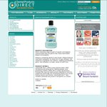 Listerine Zero Mouthwash 1L $7.83 + $10 Shipping (Free Ship over $95) @ Dental Products Direct