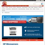 HP MicroServer G8 $349, add 1x2TB HDD $439, Buy Any 2 (HDD, RAM or HP) Free Shipping @ Shopping Express