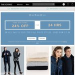 The Iconic 24% off on All Sale & Selected Full Price Items for 24 Hours