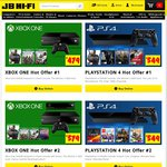 XB1 + 3 Games $479, Destiny $39, PS4 + 4 GAMES $549 + More Deals @ JB Hi-Fi