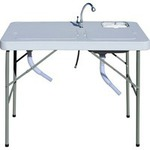 Kitchen Sink - Folding Camping Sink/Filleting Station - Rays Outdoors $39 save $110