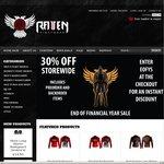 30% off Storewide at Raven Fightwear