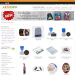 USD $20 for 10 Selected Items with Free International Shipping @ Arts Cow