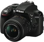 Nikon D3300 SLK 18-55mm $324 (After $100 Cashback) + Free $50 EFTPOS Card @ The Good Guys