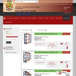 Metal Shelving 2.7mx2mx0.6m $170, 2.7mx4mx0.6m $320, 2.7mx6mx0.6m $460 Pick up Available