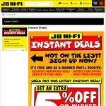 JB Hi-Fi - 5% off Voucher for 8/6 Only (Wednesday). Requires Email Newsletter