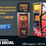 Free Rental at Video Ezy Kiosk
