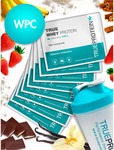 WPC Protein Sample Flavour Pack 10 Sample Packs of WPC (30g) + Shaker $14.90 @ True Protein