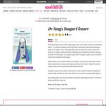 Dr Tung's Tongue Cleaner $3.96 with Free Shipping @ Nourished Life, New Accounts Only