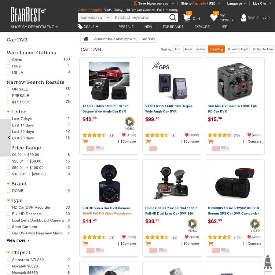 Gearbest affiliate coupons