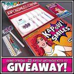 Win 1 of 25 KAPOW! Smiles Teeth Whitening Kit from Kapow Smiles