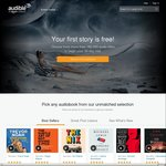 50% off Sitewide @ Audible.com