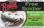 Buy One Rice Paper Roll Get One Free @ Roll'd Melbourne CBD with Shop-a-Docket