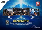 Win 1 of 3 $25USD Steam Vouchers from AOCANZ