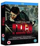 "Blu-Ray ""Mission Impossible"" Quadrilogy £8.57 (~AU $14.16) Delivered @ Amazon UK"