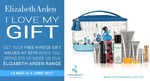 Elizabeth Arden Gift with Purchase (Valued at $219) when you spend $70+ on Elizabeth Arden (Participating Retailers)