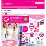 Priceline 1/2 Price Dove, Schwarzkopf Extra Care, 40% Off Revlon 30% Off L'Oreal Paris, Maybelline Eye, Selected Nude by Nature