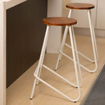 4x 68cm Bar Stools Chairs (White) - $124 + Free Shipping Australia Wide (Were $175) @ Beyond Bright