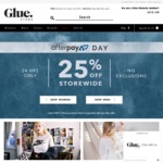 25% off Storewide at Glue Store + Free Delivery on Orders > $75