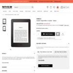 Kindle Paperwhite (Black/White) $139 Delivered @ Myer Online