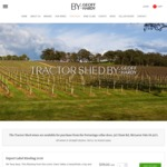 Tractor Shed Wine Sale: Free Shipping & 25% Discount on 11 Different Premium SA Wines Inc. McLaren Vale Shiraz. All from $99/Doz