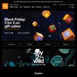 T2 Tea - 3 for 2 on Tea Gift Cubes