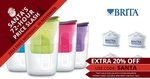 20% off Selected Goods @ Groupon e.g. Brita Jug and 5 Filters $29 Posted