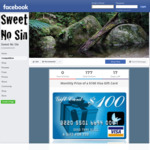 Win $100 Visa Card from Sweet No Sin