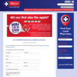 Win 1 of 10 $100 VISA Gift Cards from Pharmacy Alliance