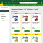 ½ Price Chobani Pouches 140gm $1.12 @ Woolworths