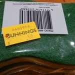 Morgan 3 Pack Sponge Scourers $0.50 @ Bunnings