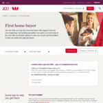 5 Year Flexi First Option Home Loan 3.79% (Comparison 4.26%) @ Westpac (First Time Buyers)