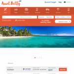 $40 off International Return Flights @ Aunt Betty