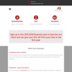 [SA] 15% off Bookkeeping Fee @ AQ Bookkeeping