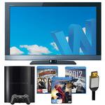 "Sony PS3 120GB + Sony 32"" Bravia Full HD LCD + 3x Blu-Rays + HDMI - $797 Delivered Big W Online!"