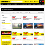15% off Hisense TVs @ JB Hi-Fi