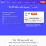 Increased Call Credit ($500) on Kids Mini Mobile Prepaid ($9.95 Per 30 Days) @ OVO