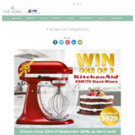 Win 1 of 3 KitchenAid Stand Mixers Worth $929 from Catch