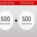 Earn up to 1,500 Qantas Points by Shopping 3 Card Offers (500 Bonus Points Each) @ Qantas Store