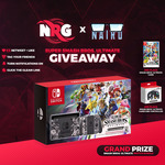 Win 1 of 3 Super Smash Bros Ultimate Prizes (Console/Game/Gamecube Controller) from NRG/NRG Nairo