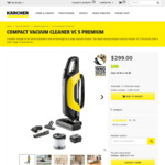 Karcher Compact Vacuum Cleaner VC 5 Premium $79 Delivered (RRP $299) @ Kaercher AU