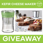 Win 1 of 6 Complete Kefir Cheese Making Kits Valued at $175 from Nourishme Organics